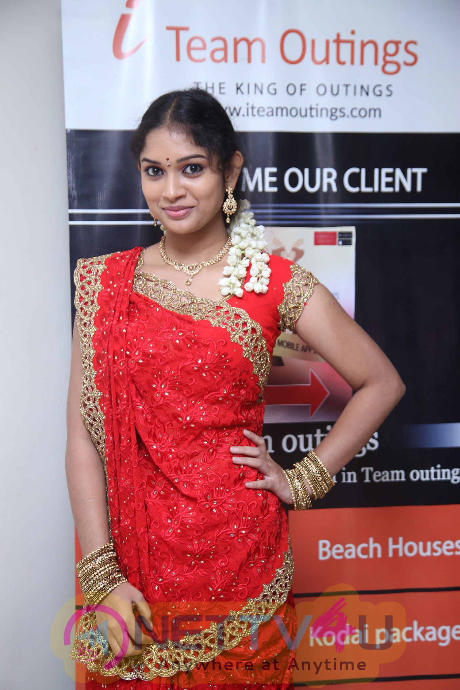 Photos Of Actress Shree Ja Launches My Grand Wedding Mobile App
