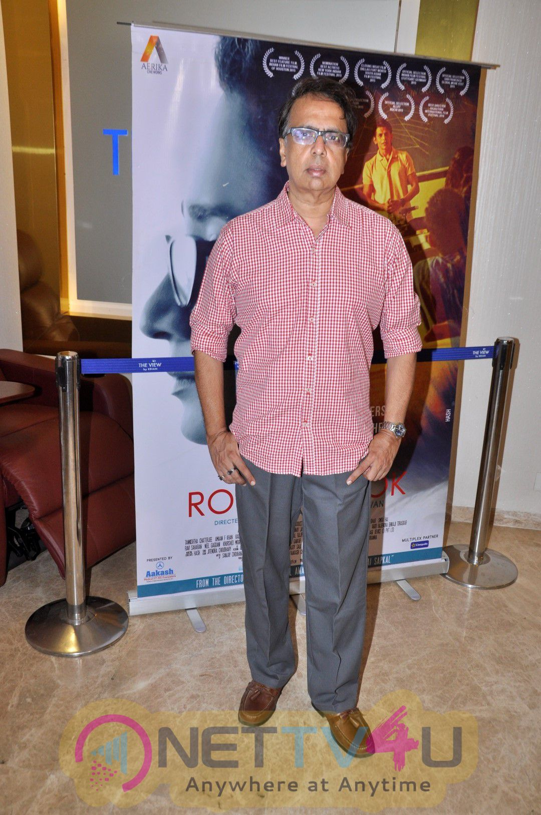 Photos Of Anant Mahadevan At Special Screening Of Film Rough Book