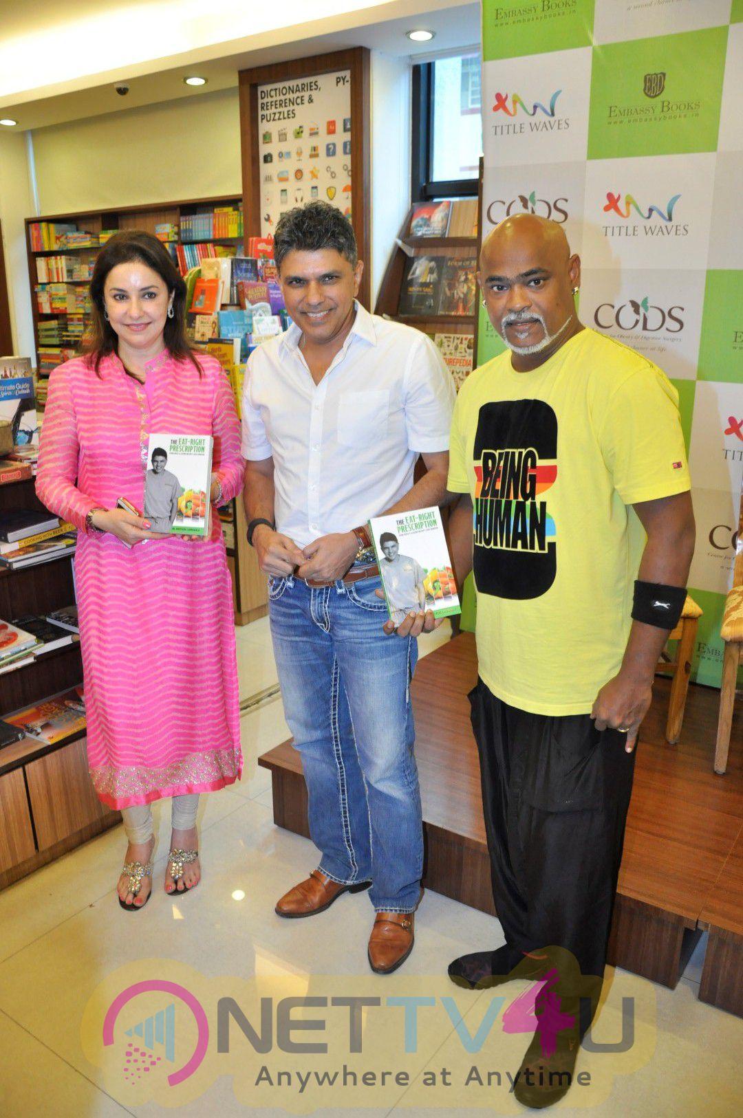Photos Of Anu Malik & Vinod Kambli At Book Launch Of The Eat Right Prescription Hindi Gallery