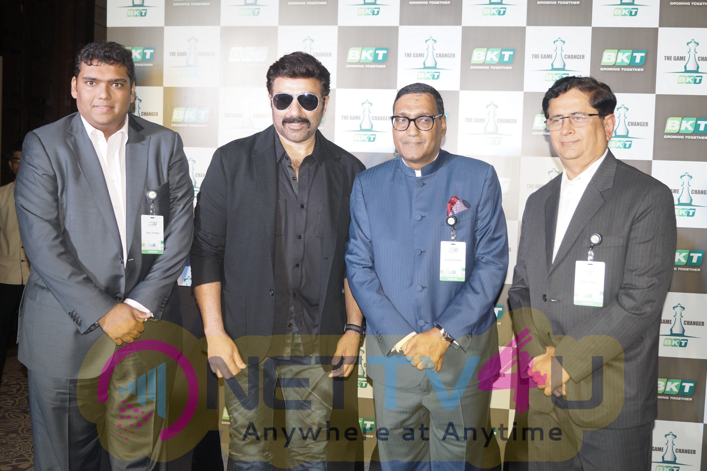 Photos Of Sunny Deol Launched The New Two Wheeler Tire From BKT Tires