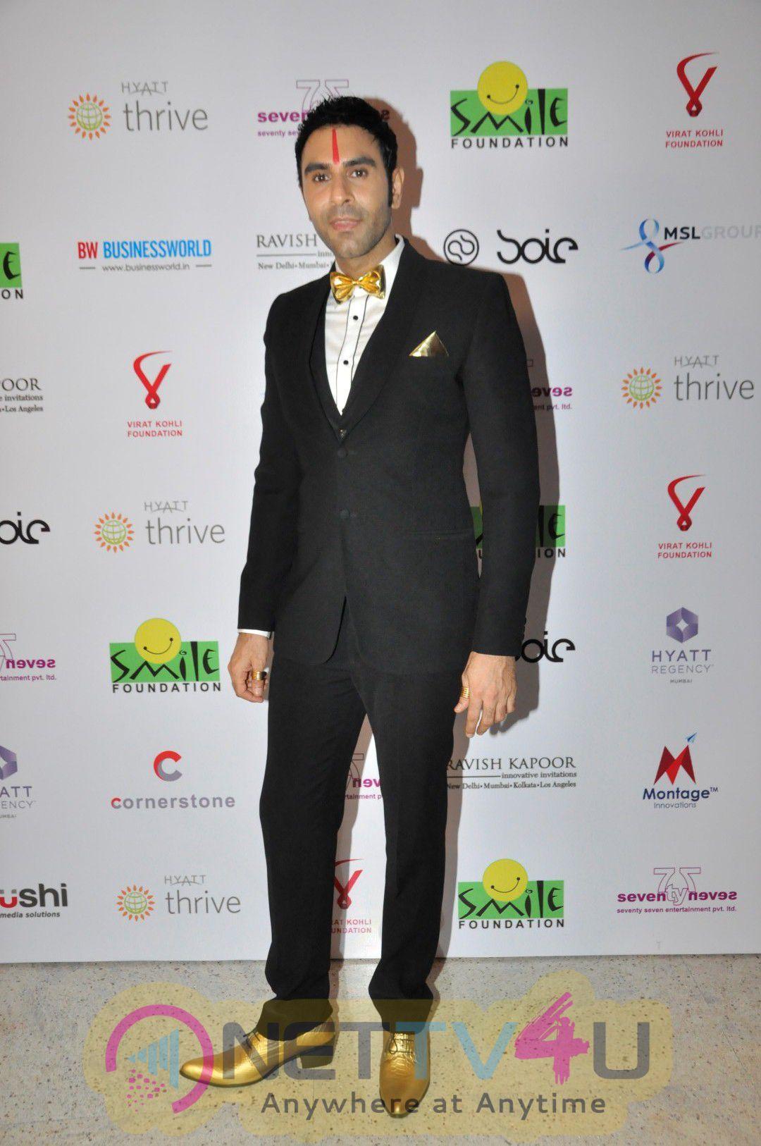 Photos Of Virat Kohli Foundation Hosts Charity Dinner With Smile Foundation