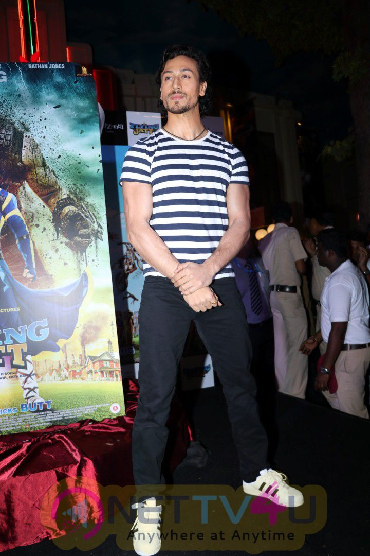 Photos Tiger Shroff & Remo D'Souza At Launch Of Official Game Of Super Hero