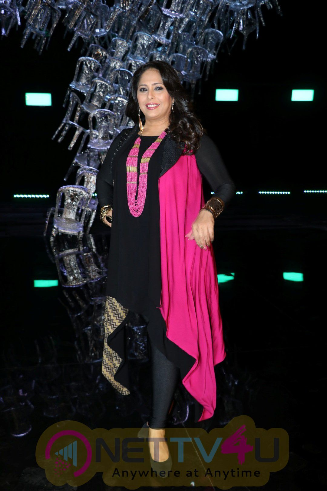 Photoshoot Of Sony TV Super Dancer With Shilpa Shetty, Anurag Basu & Geeta Kapoor At Filmistan Studio Photos