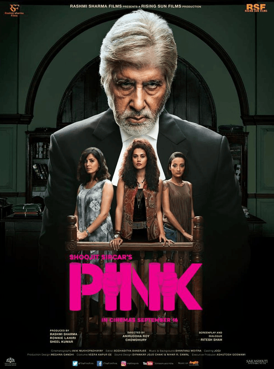 Pink Movie Review Hindi Movie Review
