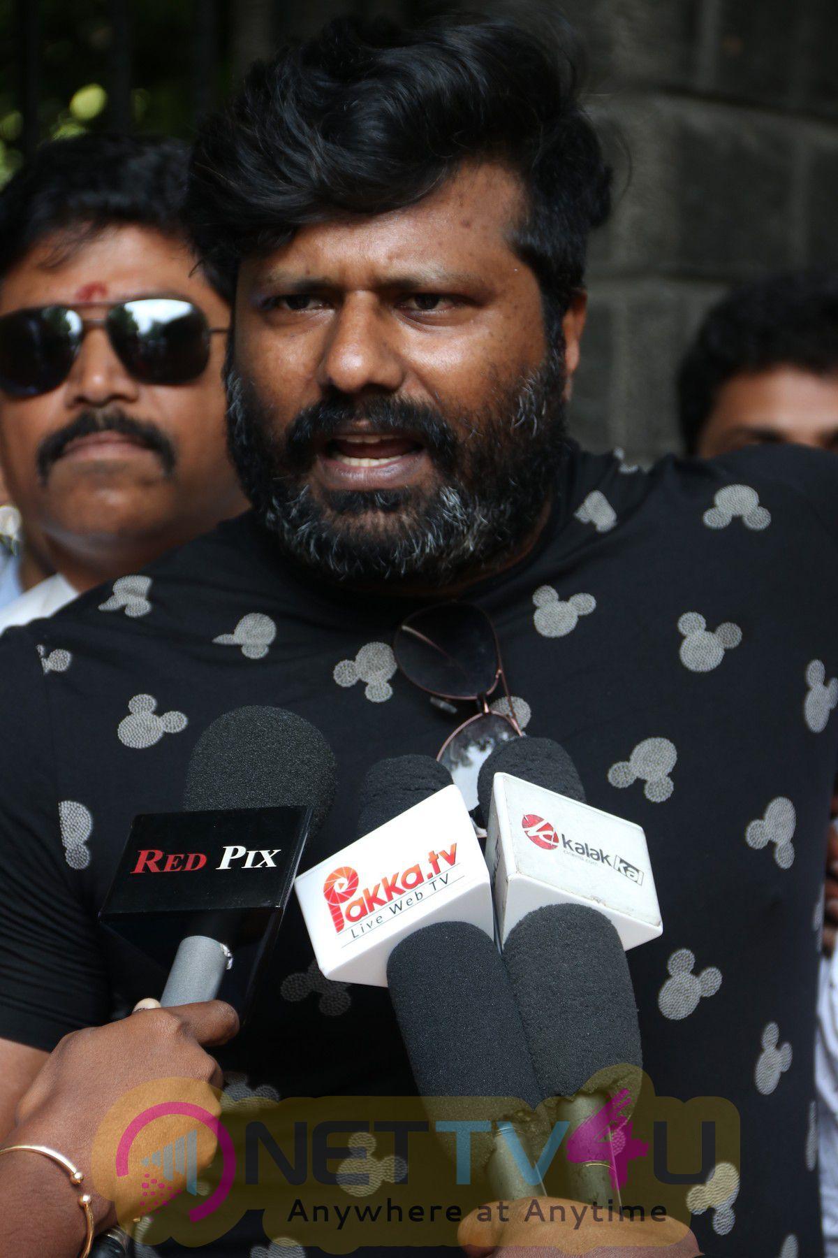 Police Arrested Kanna Pinna Movie Team Stills