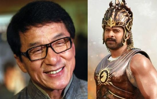 Prabhas Grabbed The Attention Of Jackie Chan!