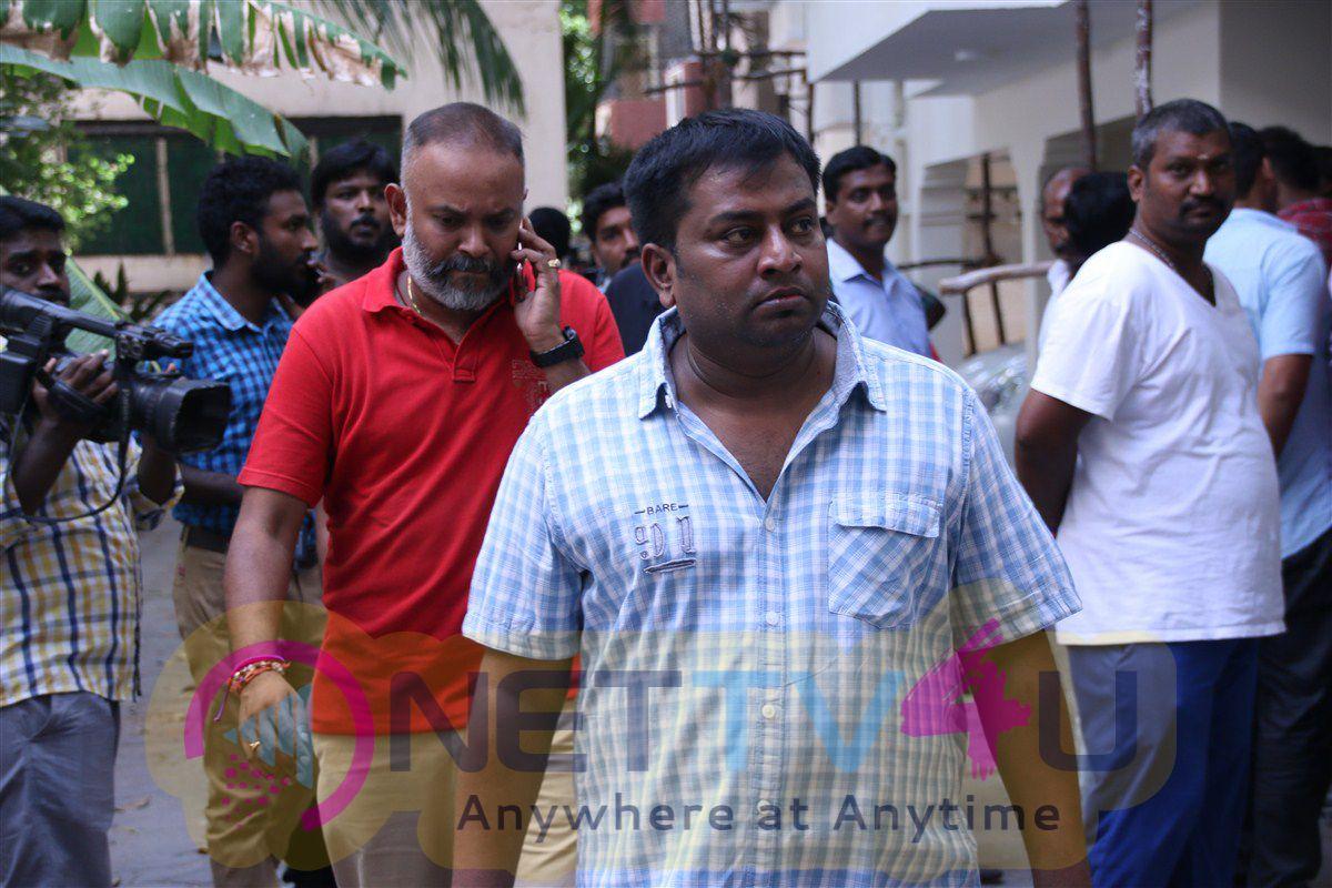 Producer Panchuarunachalam Passed Away Photos