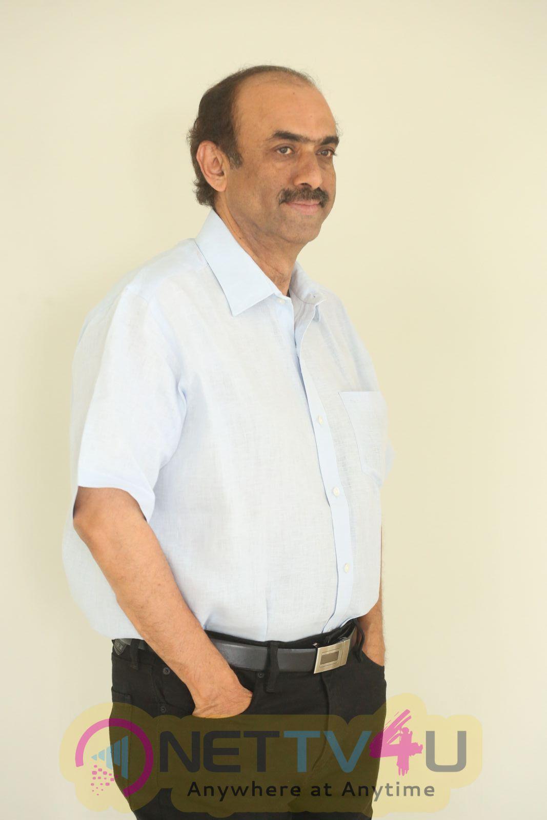 Producer Suresh Babu Interview Handsome Stills