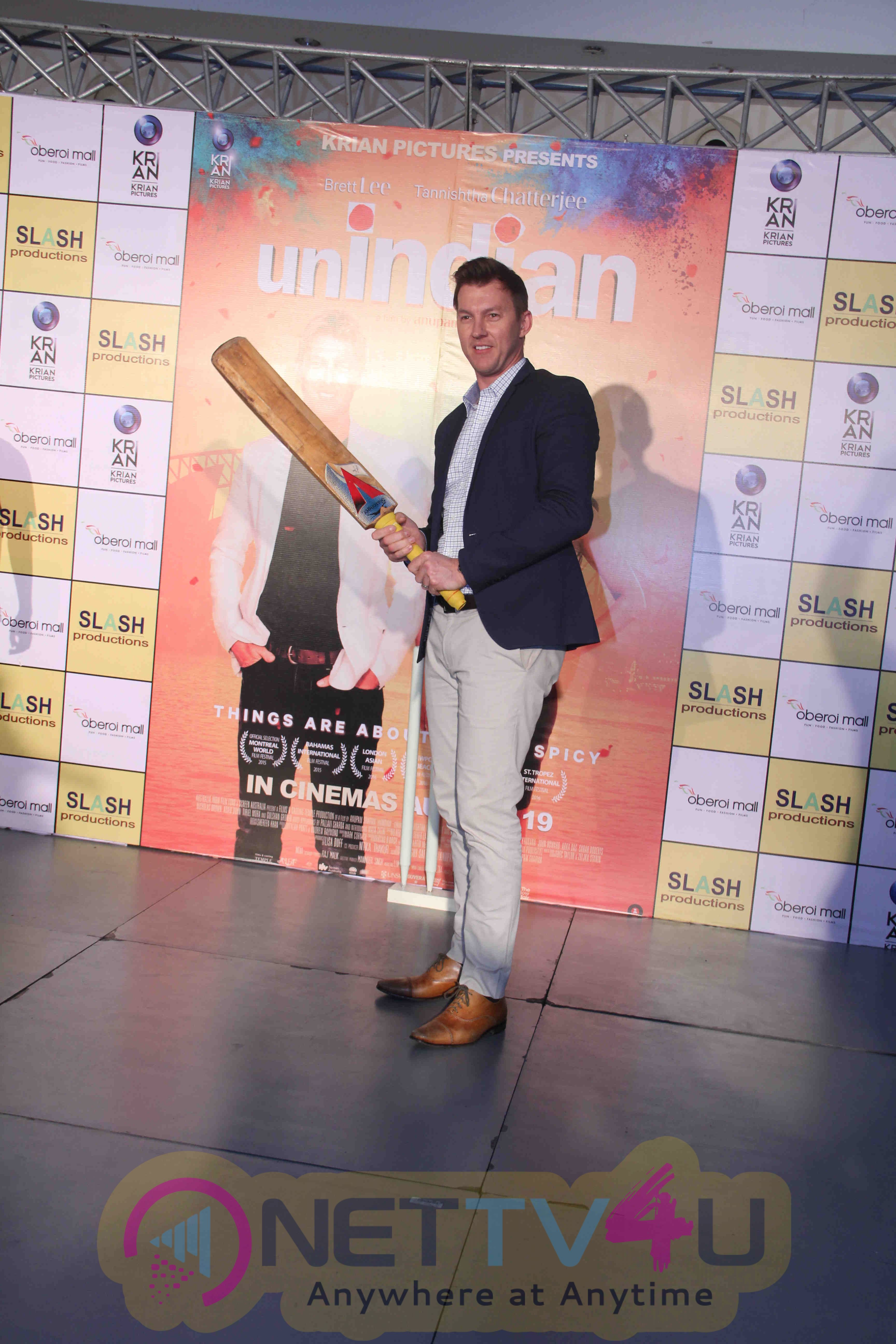 Promotion Of Film UnIndian Brett Lee Exclusive Photos