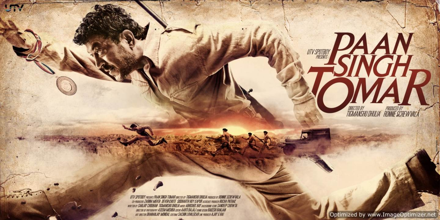 Paan Singh Tomar Movie Review Hindi