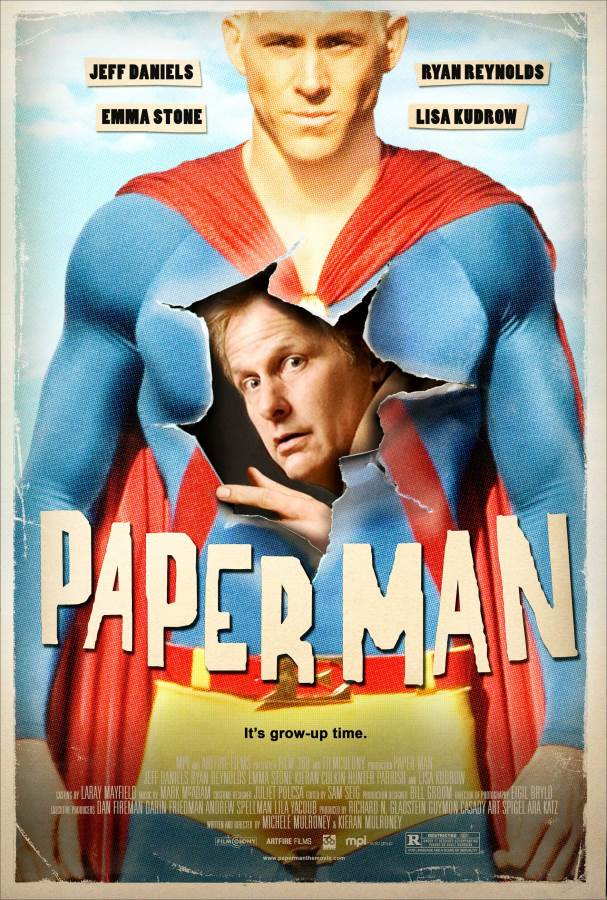 Paper Man Movie Review English
