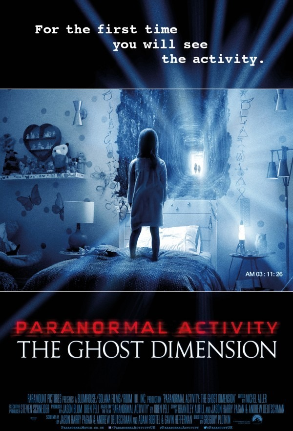 Paranormal Activity The Ghost Dimension Review English Movie Review