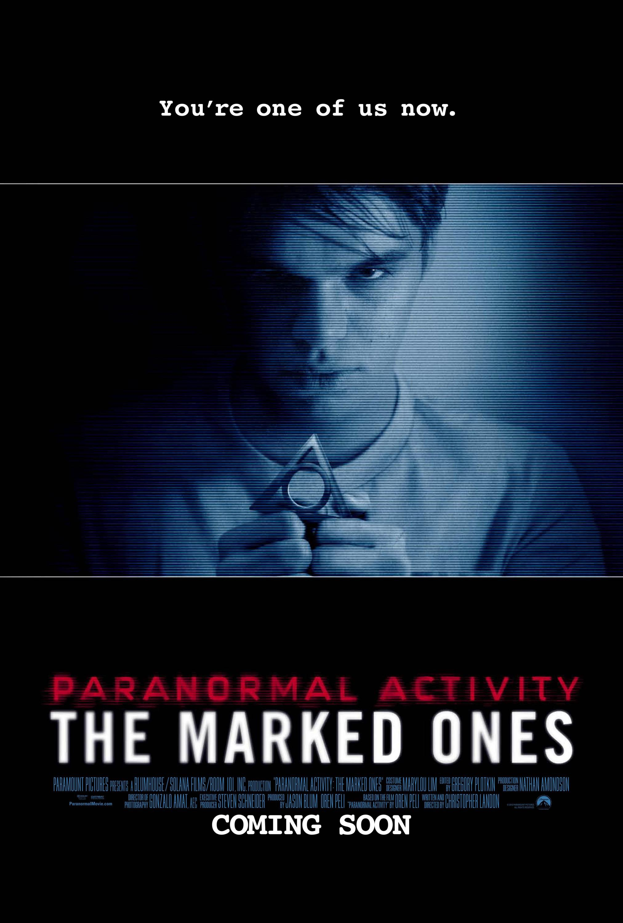 Paranormal Activity: The Marked Ones Movie Review English