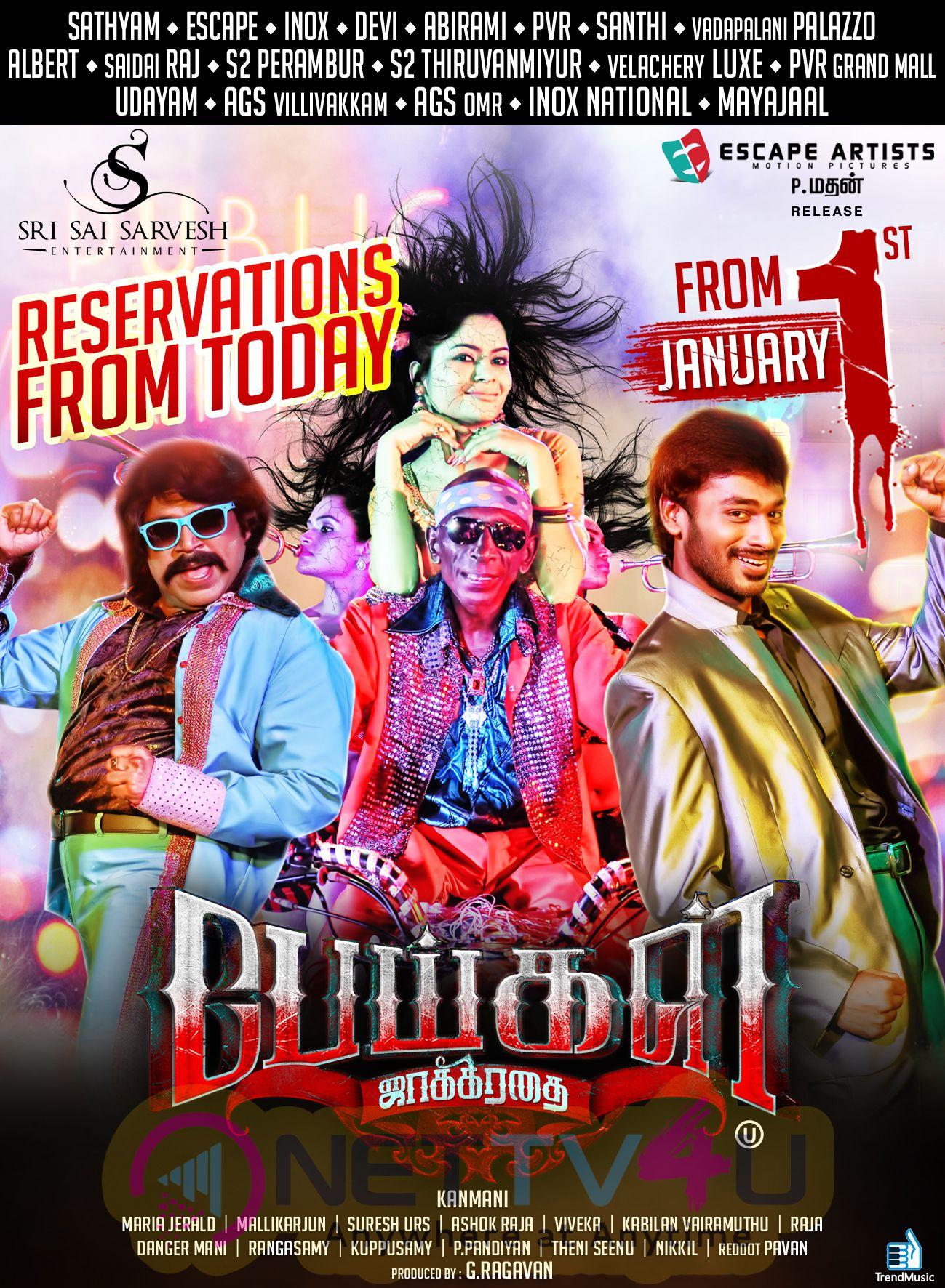 Peigal Jaakirathai Tamil Movie Posters