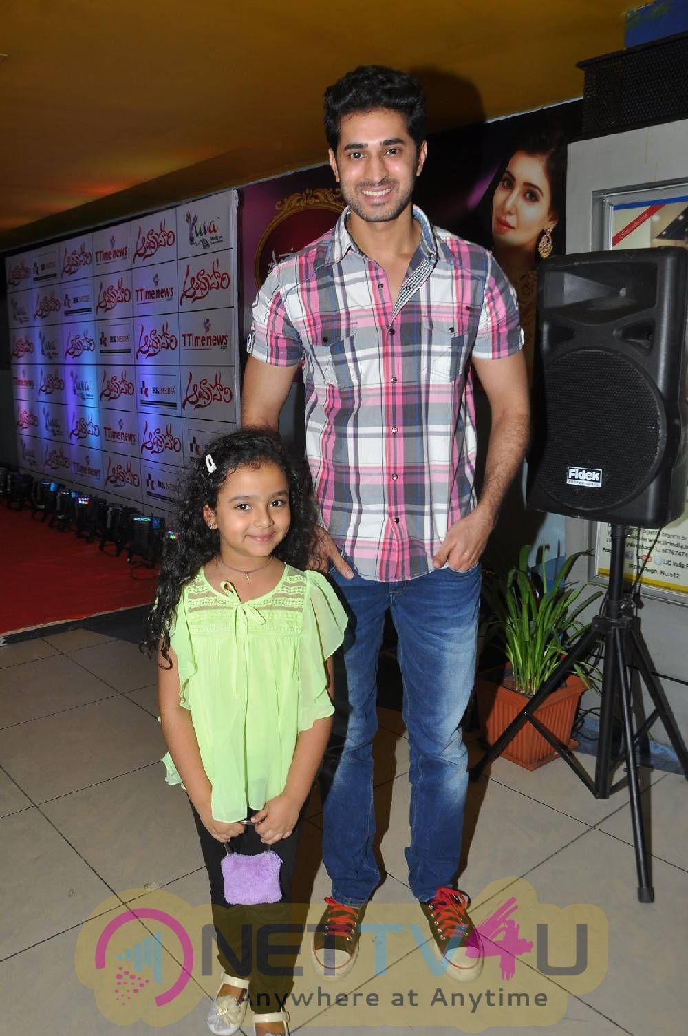 photos of andhra pori movie preview show at imax 4