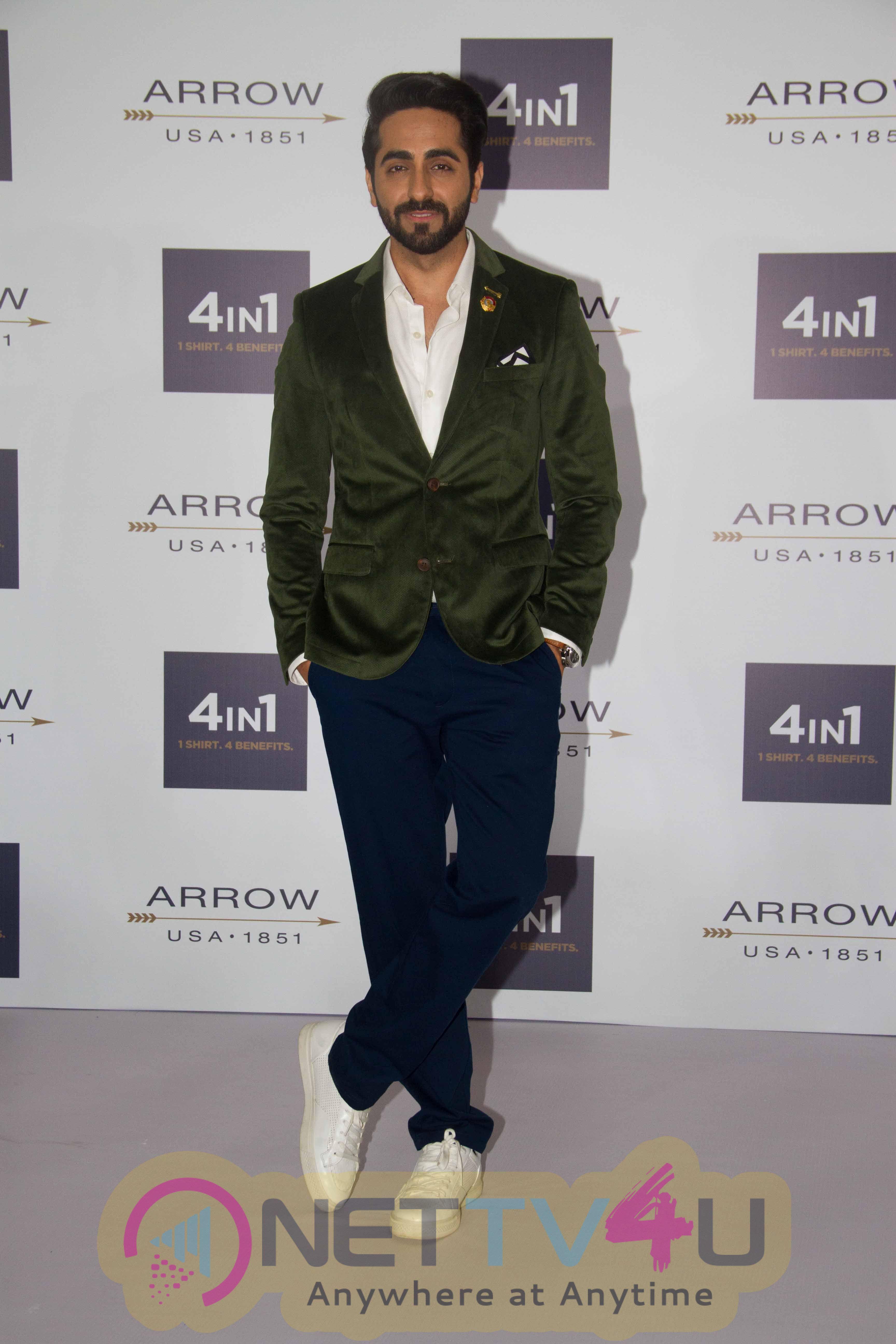 Photos Of Ayushmaan Khurana Promotes Arrow Shirts Hindi Gallery