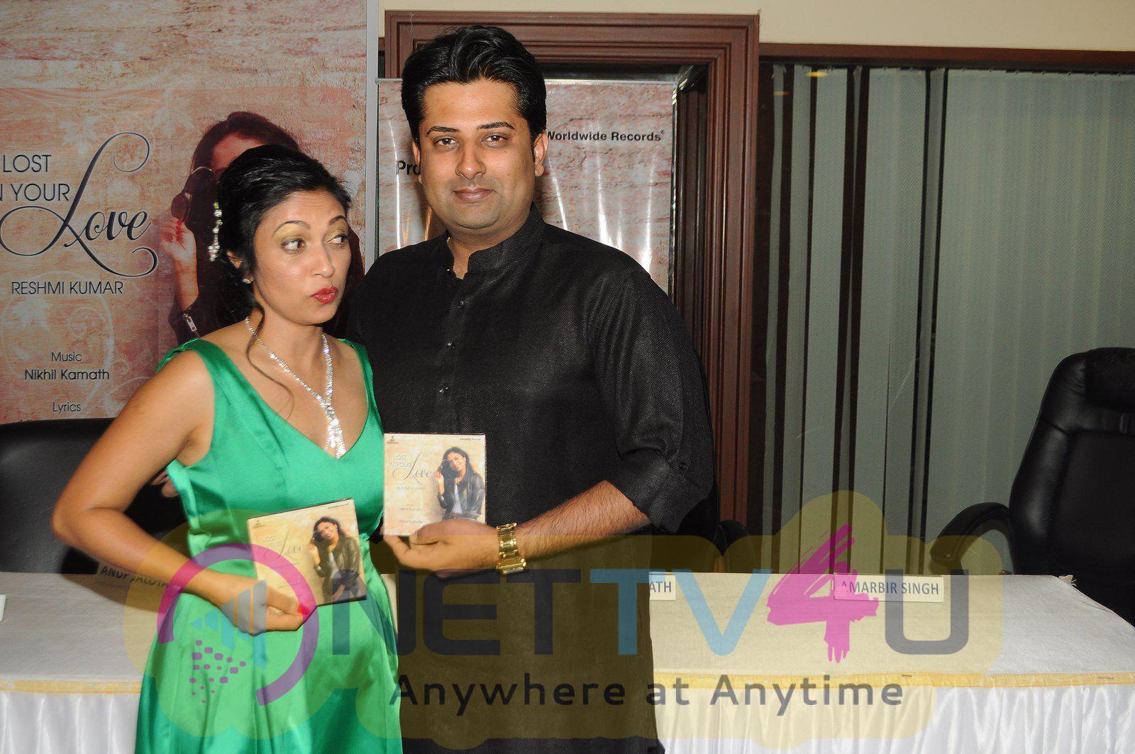 Photos Of Bhajan Singer Anup Jalota During A Music Album Launch Of Reshmi Kumar`Deewana Mera Dil