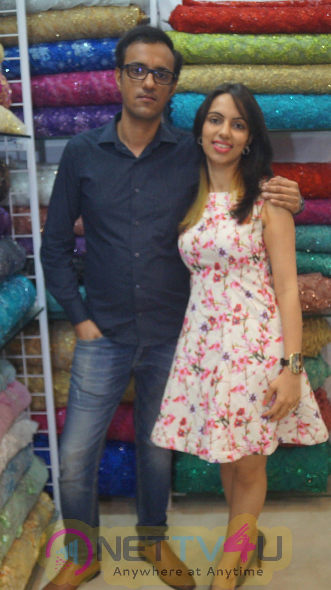 Photos Of Latasha Impex Store Opening By Tv Actress Meghna Naidu At Latasha Haute Couture In Mumbai