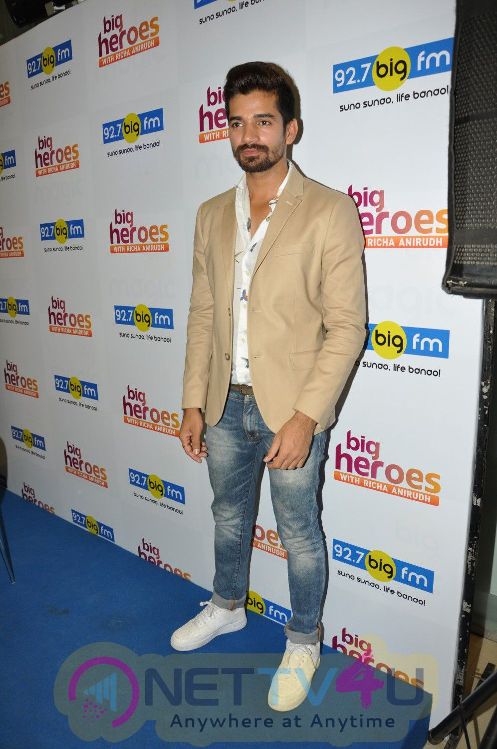 Photos Of Launch Of Big Fm Brand New Show Big Heroes With Manoj Bajpai Jimmy Shergill & Divya Dutta