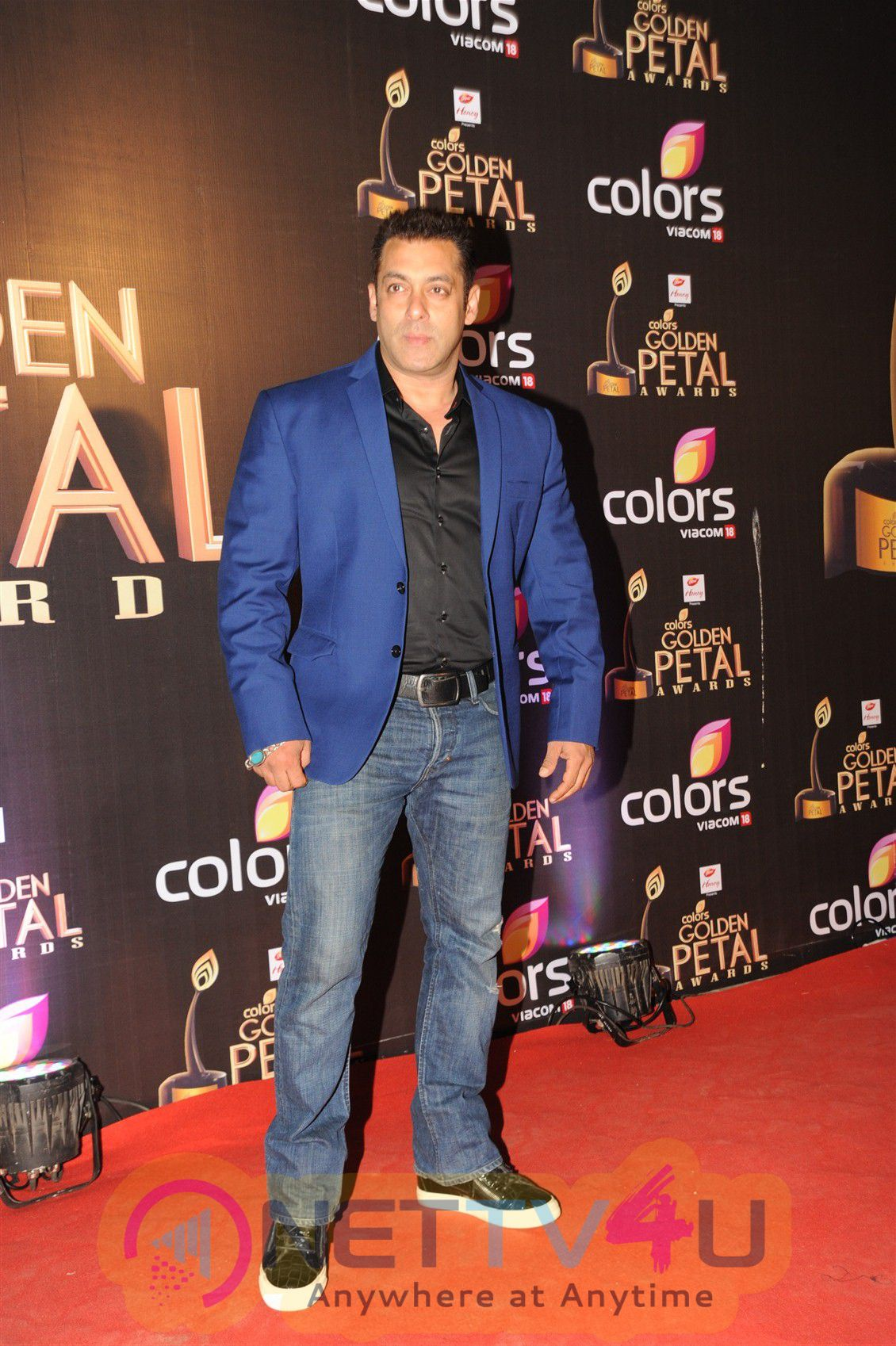 Pictures Of Salman Khan At Golden Petal Awards 2016