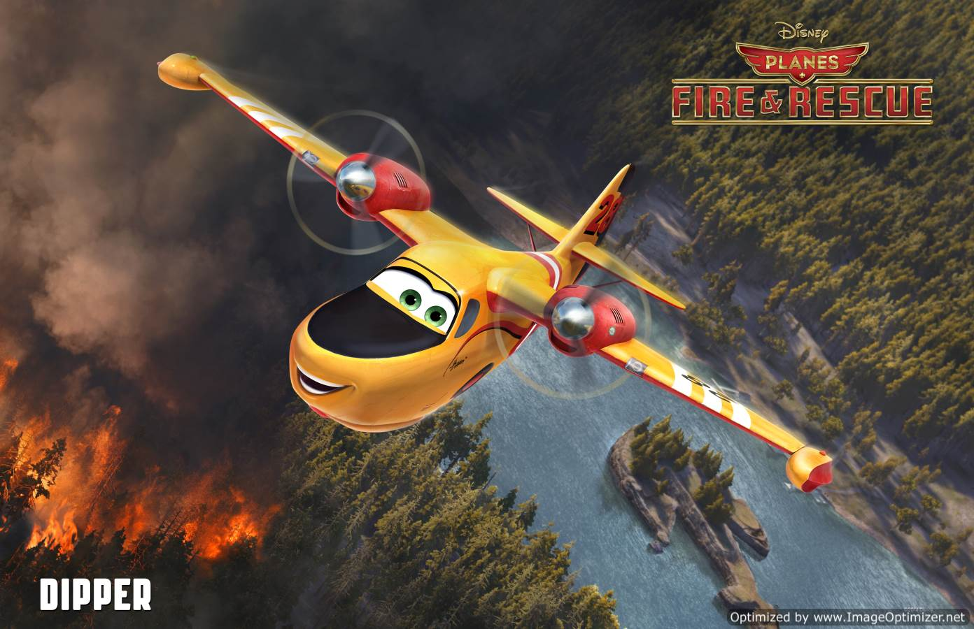 Planes: Fire & Rescue Movie Review English