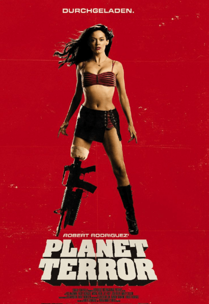 Planet Terror Movie Review English Movie Review