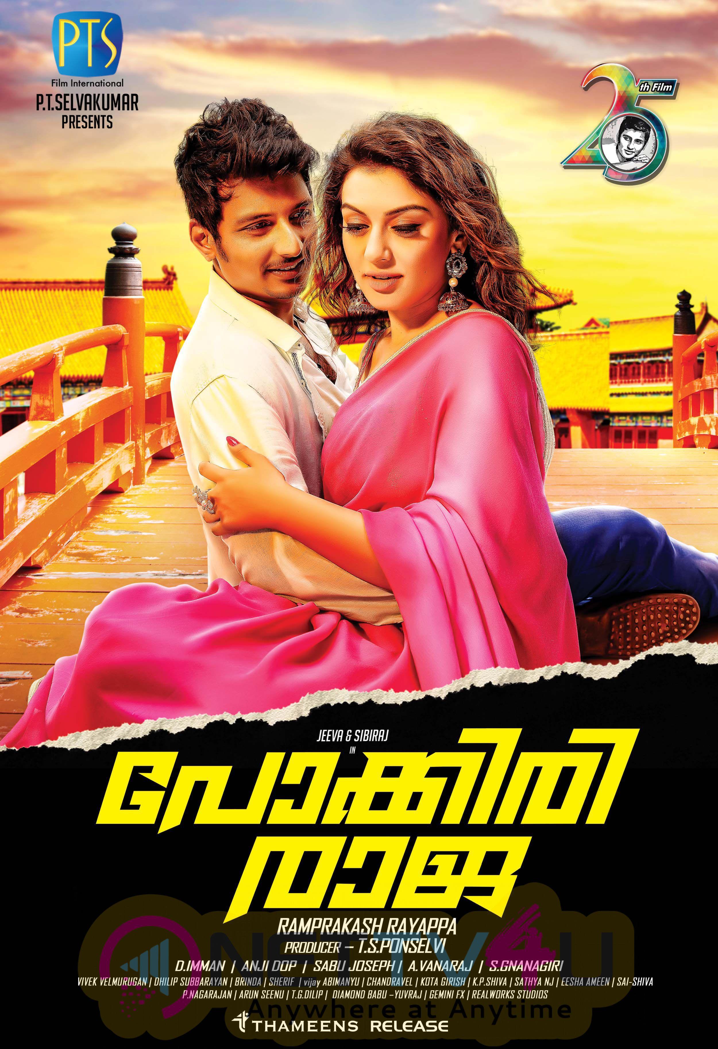 Pokkiraja  Malayalam Movie Poster Stills