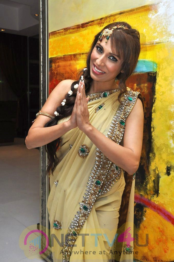 Pooja Misrra VJ-Model Bridal Photo Shoot Stills