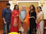 Popular Actor Rajasekhar Meets The PM!