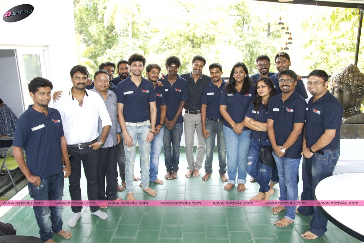 Prabhu Deva Studio's Vinodhan Movie Opening Stills