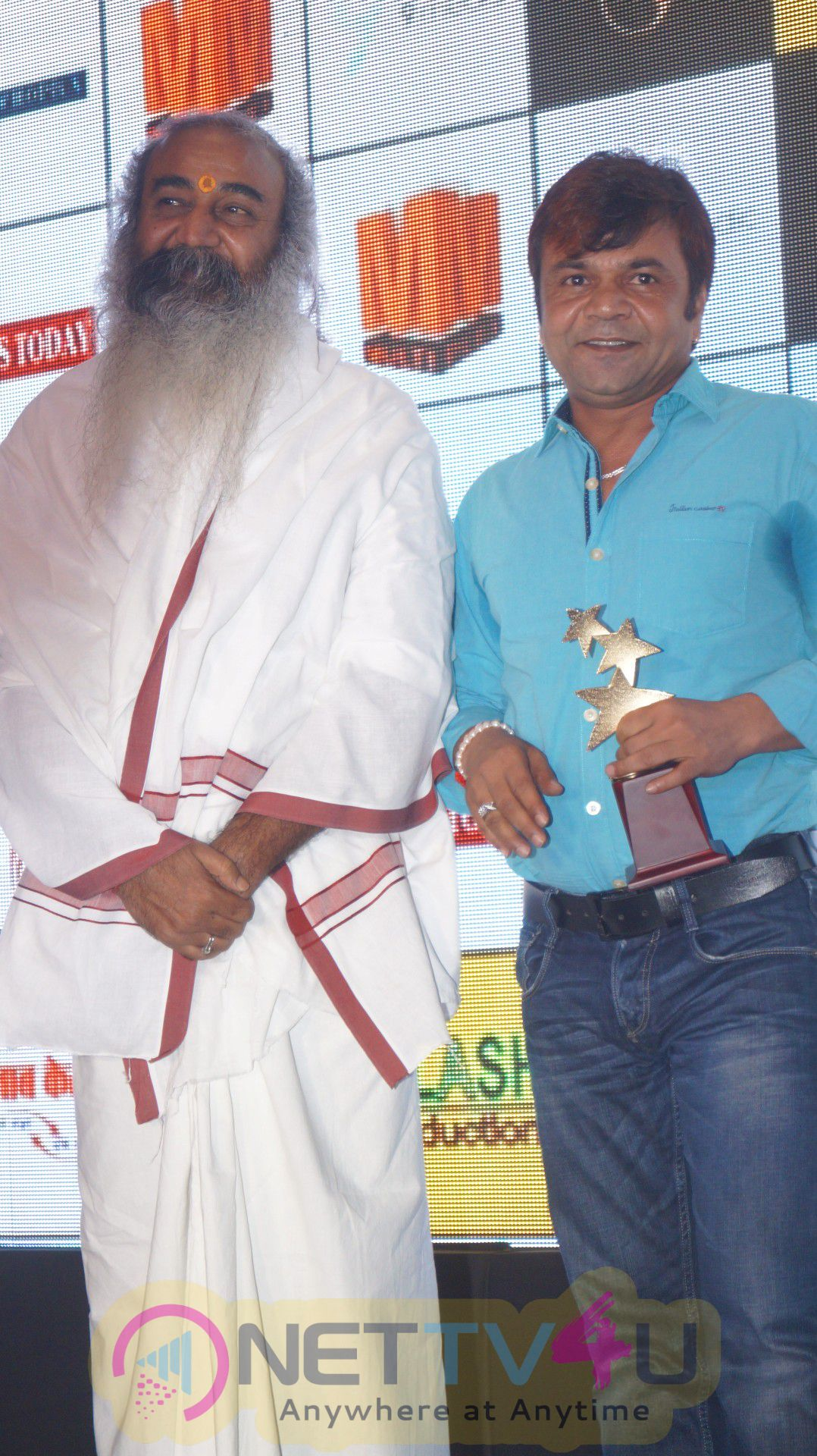 Prahlad Modi & Celebs Attend 1st Films Today Award Attractive Photos