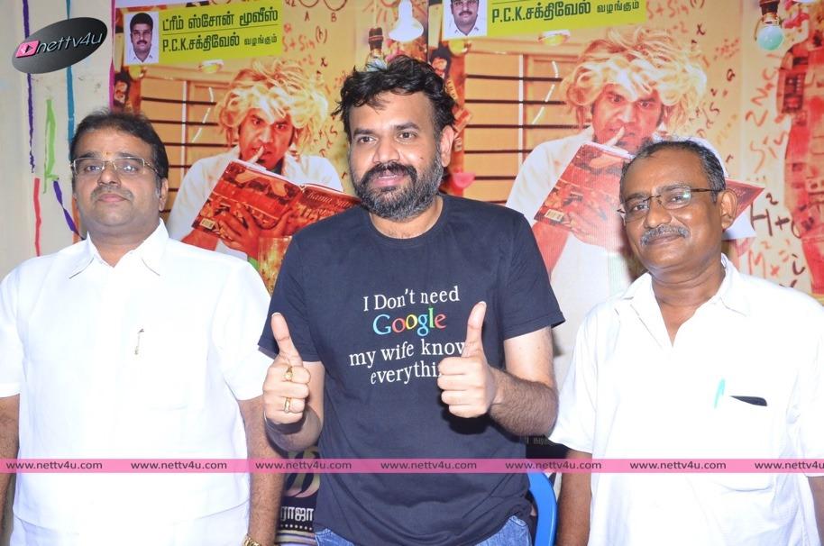 Premji Amaran's Maanga Tamil Movie Press Meet Stills