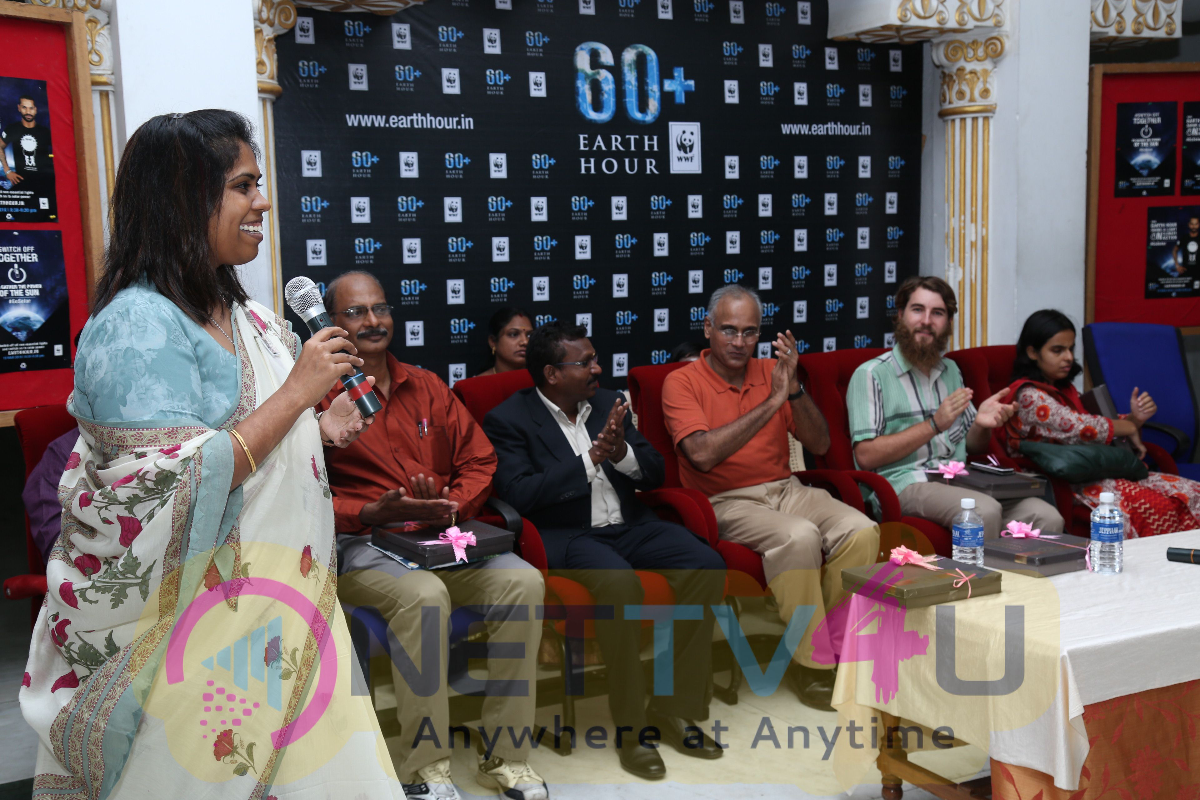 Press Release And Photos Of World Earth Hour 2016 Celebrated By Sathyabama University Latest Photos