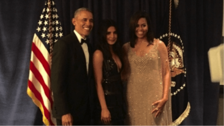 Priyanka Chopra Dined With Barack Obama And Mic..