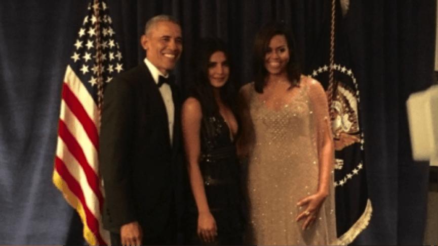 Priyanka Chopra Dined With Barack Obama And Mic..