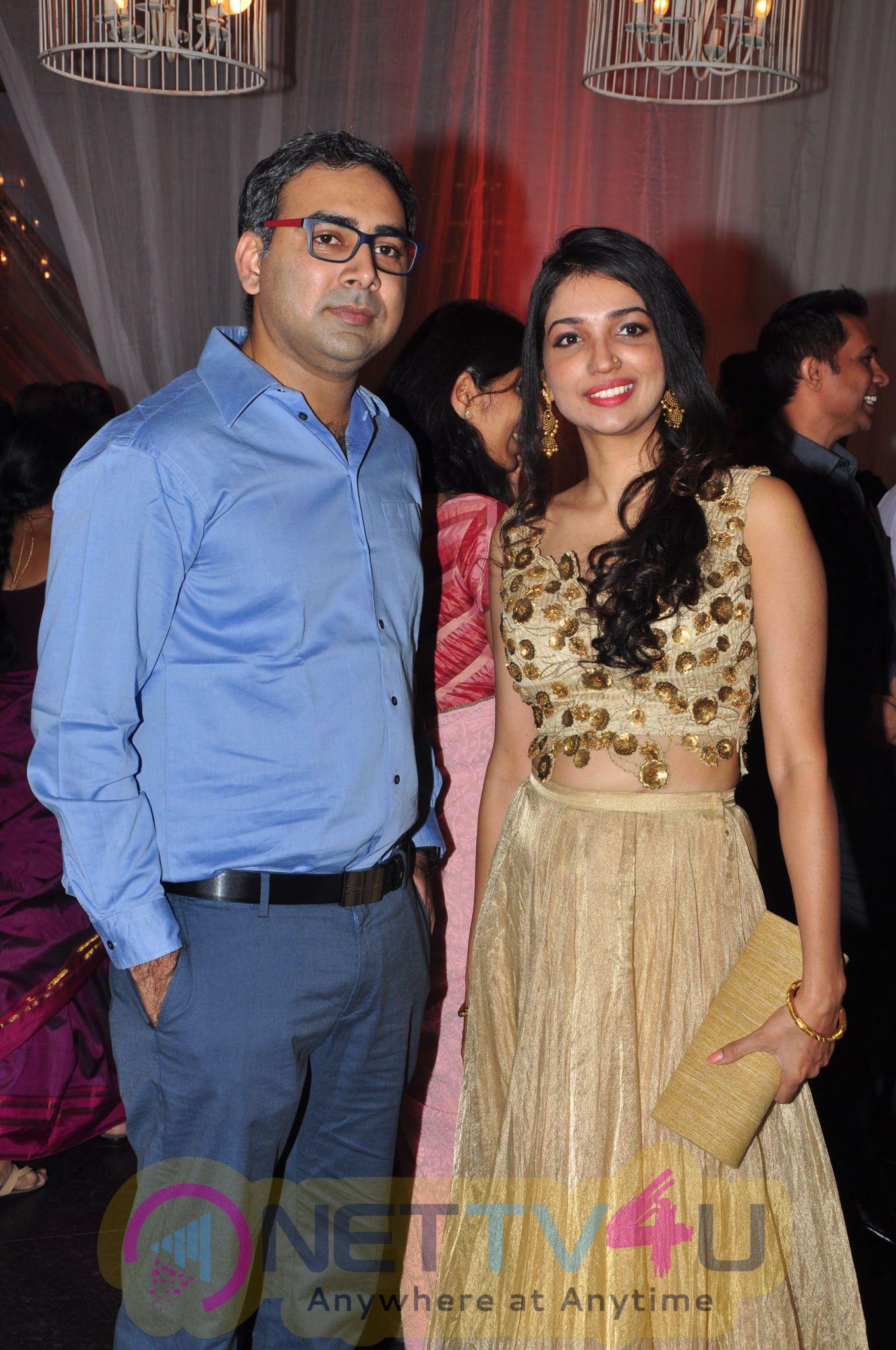 Priyanka Dutt Wedding Reception Photos