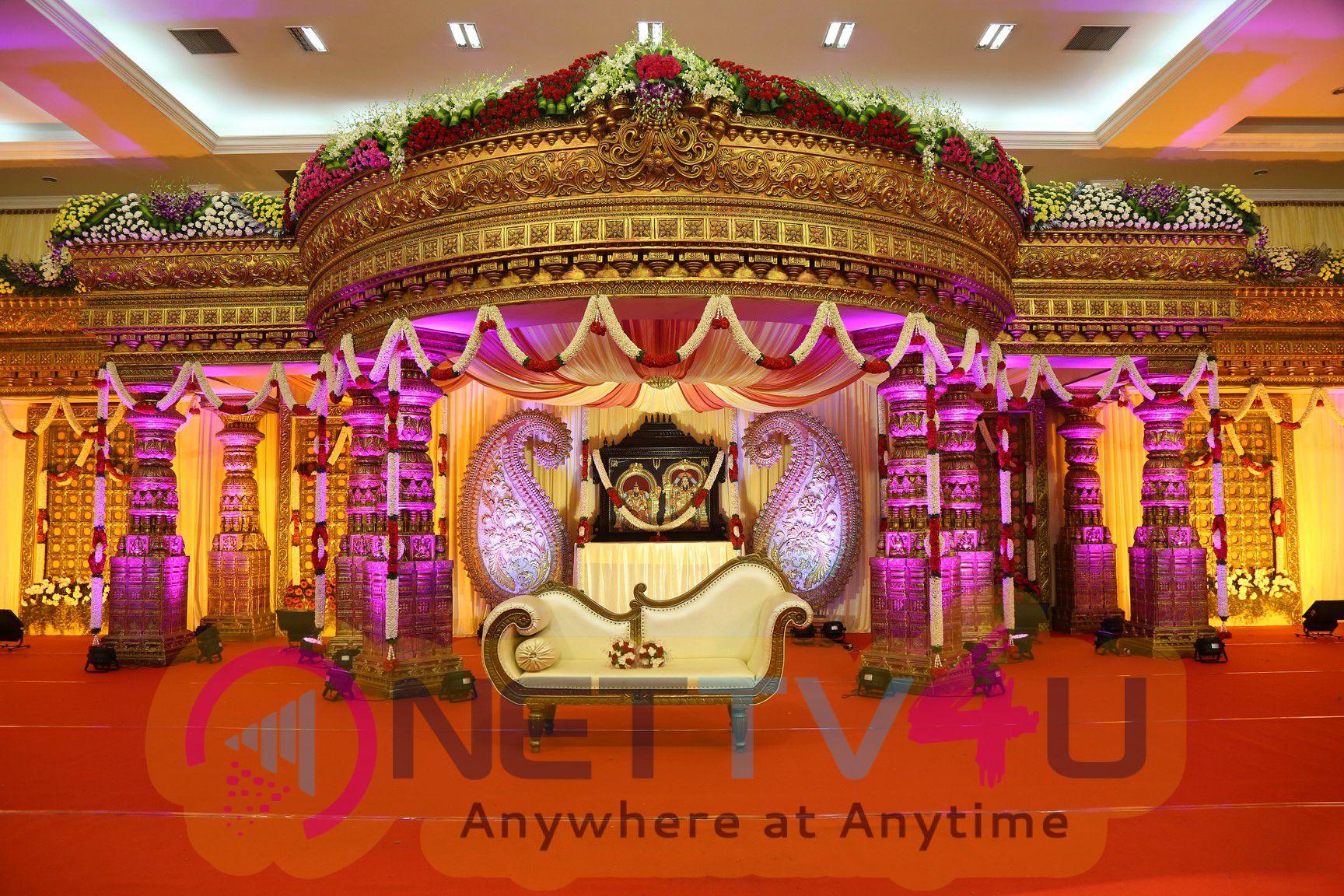 Producer Raviprasad Home Wedding Function Stills