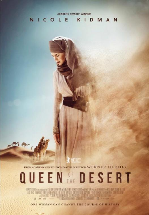 Queen of the Desert Movie Review English