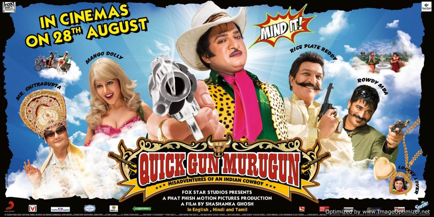 Quick Gun Murugun Movie Review Hindi