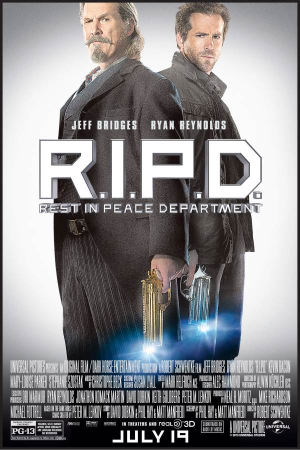 R.I.P.D. Movie Review English