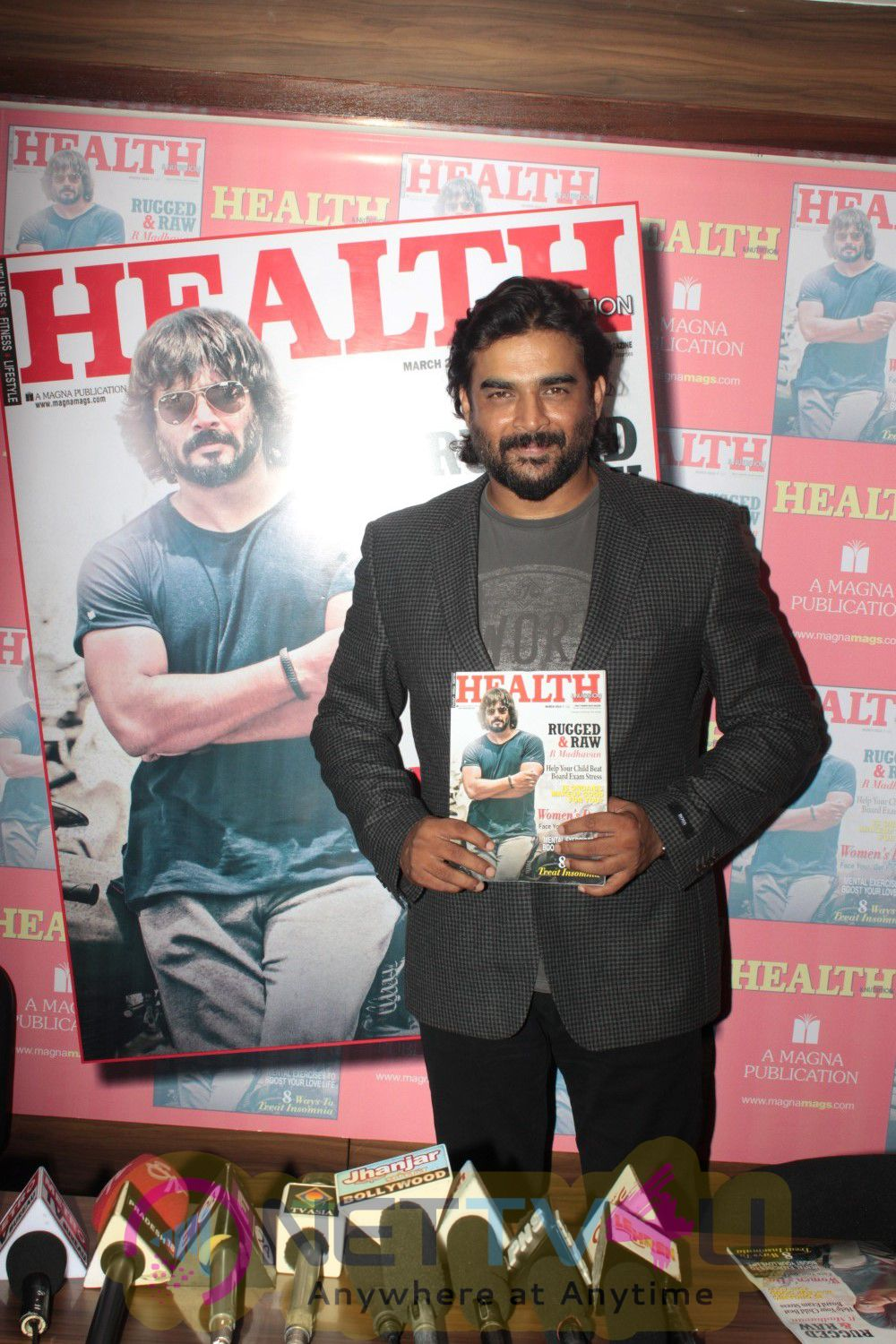 R Madhavan On The Cover Of Health & Nutrition Magazine Event Stills