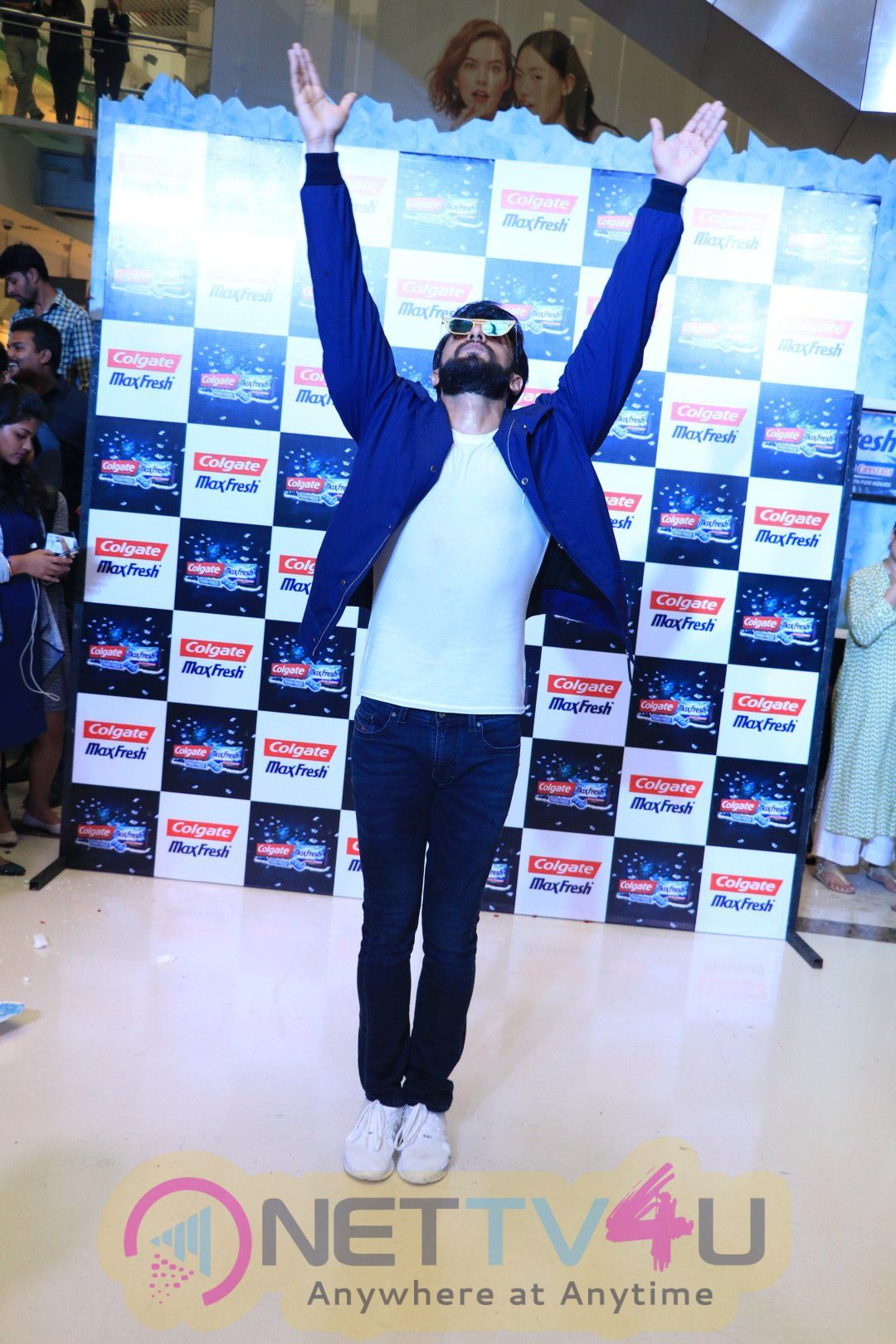 Ranveer Singh At Colgate Max Fresh Event Power Freeze Stills