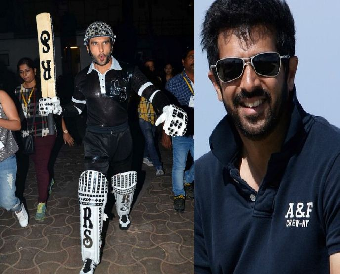 Ranveer To Play A Cricketer?