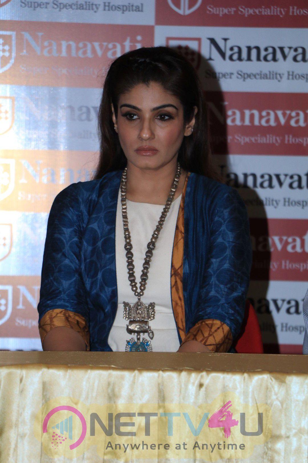 Raveena Tandon Announced As The Brand Ambassador Of Nanavati Super Speciality Hospital Stills