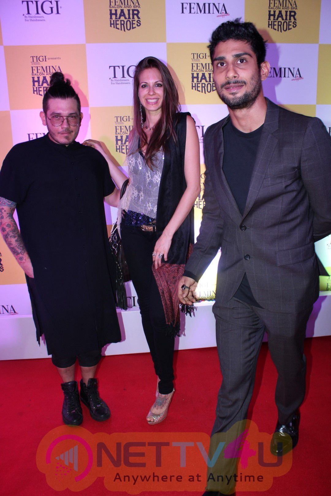 Red Carpet Grand Finale Of Femina Salon & Spa Hair Heroes 2016 Images