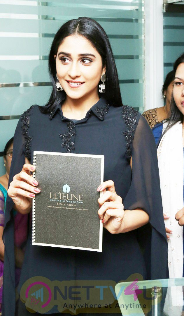 Regina Cassandra Launches LeJeune Skin And Hair Transplant Clinic At Vizag Stills