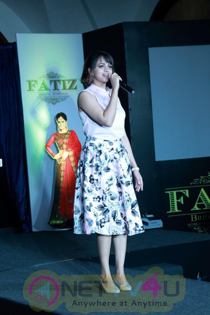 Remya Nambeesan's Fatiz Bridal Emporio Launch And Fashion Show Luminous Photos