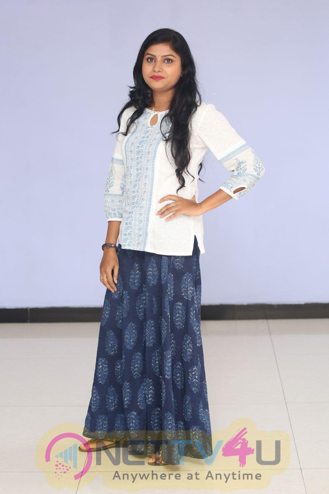 Rithika Classy Stills At Ameerpetlo Movie Audio Success Meet
