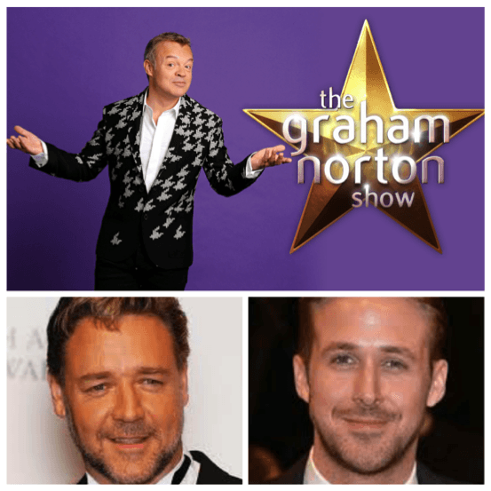 Ryan Gosling And Russell Crowe For 'The Graham Norton Show'