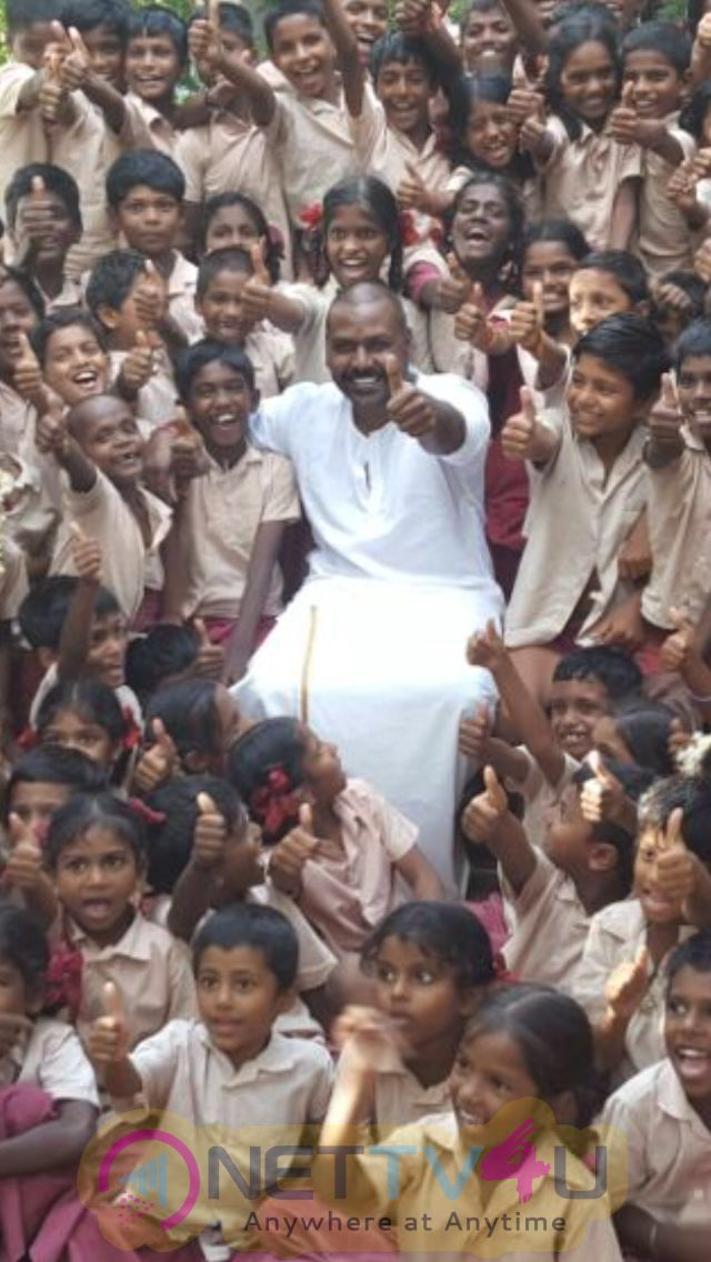 Raghava Lawrence's School For Free Education Building Work Starts From Today Still